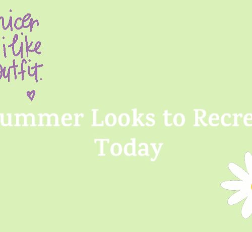 5 summer looks to recreate today